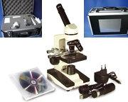 Microscope portable + camera et logiciel