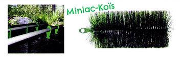 Brosses de filtre proposé par Miniac-Koïs le Spécialiste du bassin de jardin en Région Bretagne