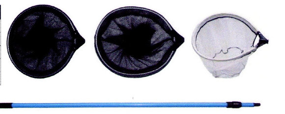 Oval 33x40cm maillage fin blanc