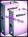 Le MidiSieve est la plus petite version de l'UltraSieve III au franc succès.