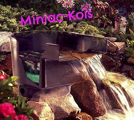 Profitez d'une cascade bien conçue dans votre pièce d'eau. Les FilterFalls d'AquaForte non seulement présentent une valeur esthétique, mais assurent également une partie de la filtration et de l'aération.