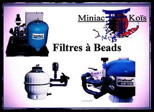 Filtres à beads proposé par Miniac-Koïs ( AquaticScience, AquaForte )