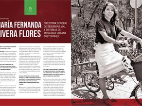 Entrevista con María Fernanda Rivera Flores; Directora General de Seguridad Víal