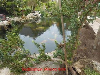 Vente et installation de matériel de bassin de jardin