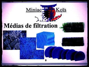 Tous les Médias de filtration pour votre bassin proposé par Miniac-Koïs