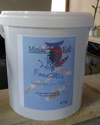 Granulé Food Mix Flottant 6mm  seau 4kg