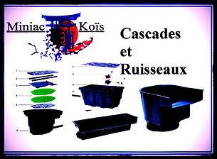 Filtres cascade et lames d'eau proposé par Miniac-Koïs