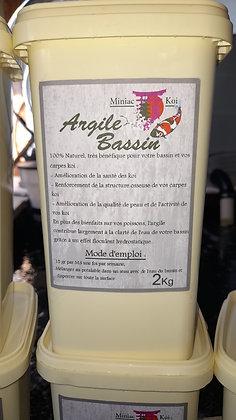 Argile Bassin 2kg
