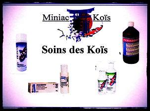 Tous les traitements de professionnels pour soignez vos Koïs avec Miniac-Koïs le Spécialiste du bassin de jardin en Région Bretagne