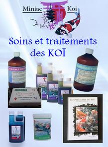 Soins et traitements des Koï