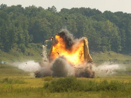 Los Explosivos Como Elemento de Subversión y la Criminalística