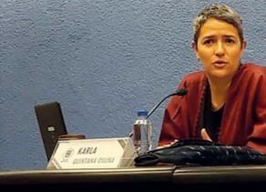 Entrevista a Comisionada Karla Irasema Quintana