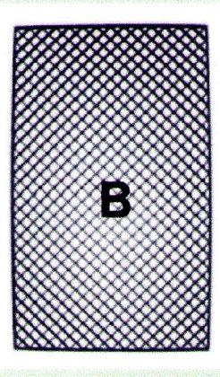 Standard noir 68 x 40 x 1,2cm
