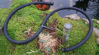 Diffuseur tuyau japonais lesté.  long: 200cm