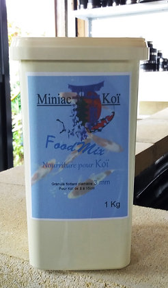 Granulé Food Mix de 3.mm pour Koï de 8 à 15cm 1 kilo
