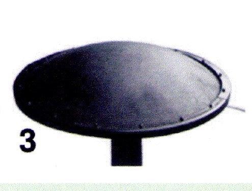 Couvercle d'aération distinct pour 50mm