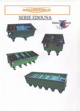 Serie de filtres EDOUNA de chez aquaworld par Miniac-Koïs