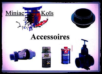 Accessoires pour la réalisation et la construction de votre bassin.