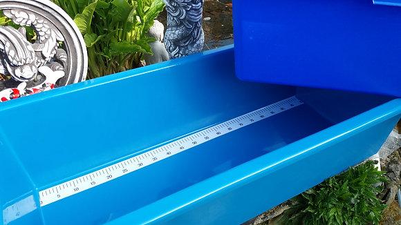 Bac de mesure 100 cm. 115x52x28 cm
