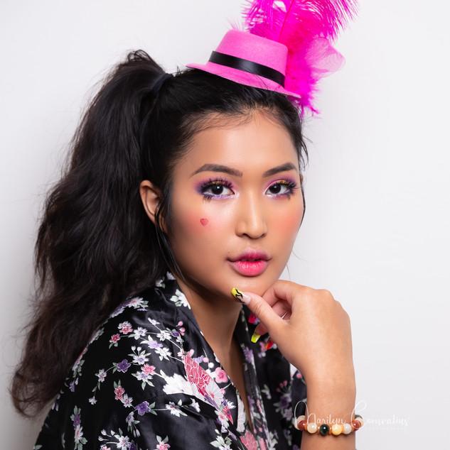 Japanse stijl makeup