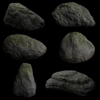 3D minor - Rocks