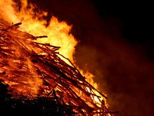 Osterfeuer birgt tödliche Gefahr für Tiere