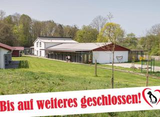 Tierheim weiterhin geschlossen