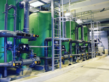 Why does pressure loss occur in filtration systems?