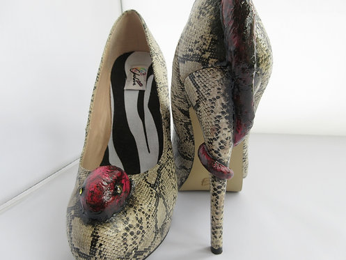 Viper snake shoes