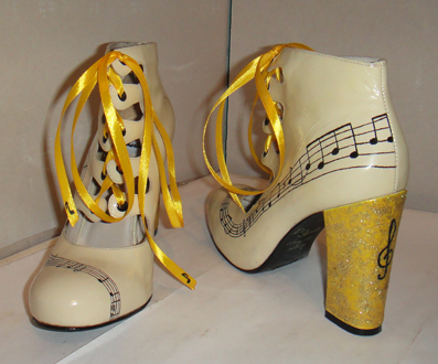 Music note Michael Jackson shoes