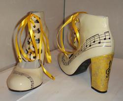 Music note Michael Jackson shoes