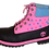 Thumbnail: Pink, Black, Blue spike suede Timberland boots