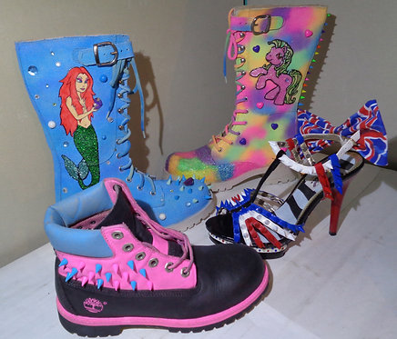Your very own custom created boots