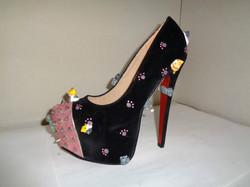 Kawaii kitty cat platform shoes