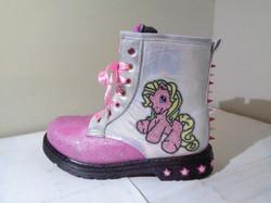 My Little Pony iridescent boots