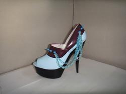 Westham Football platform shoes