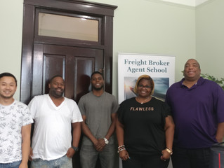 Freight Broker Agent School - 1 from MD / 1 from AL / 3 from GA