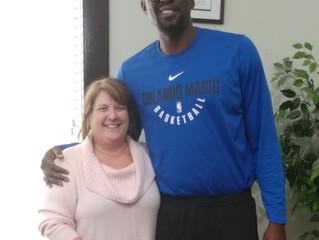 Maria trains Former NBA Darius Miles and set up his brokerage company.