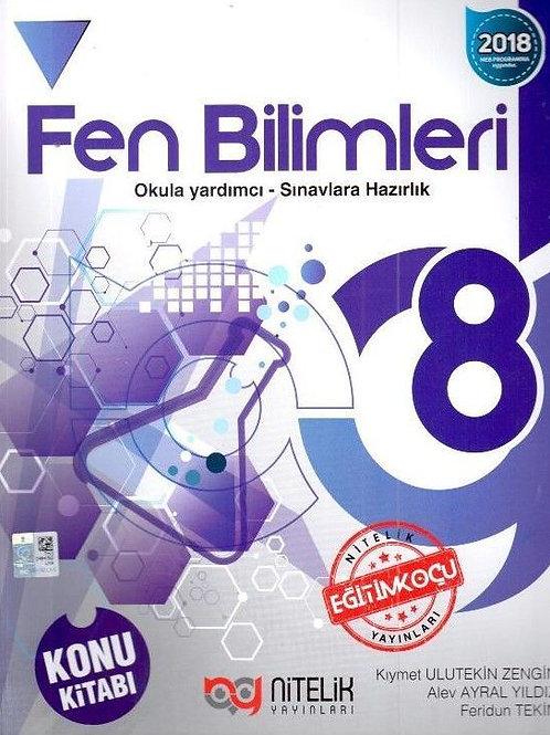 8.Sınıf Fen Bilimleri Konu Kitabı - Nitelik Yayınları