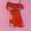 Thumbnail: Wire wrapped flowers | Orange sea glass | Wire wrapping | Purple flower