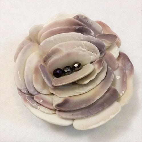 East Coast Shell Flower | Paperweight | Shell Art