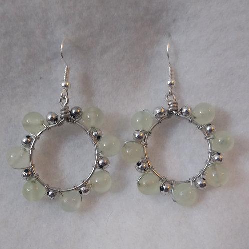 CUSTOM ORDER | Green Aventurine Earrings