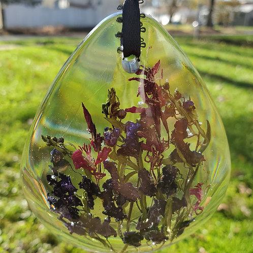 Floral Room Décor- Teardrop Shape Real Flower Home Décor