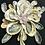 Framed Shell Flower | Oyster | Quahog shells