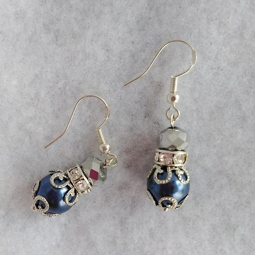 Small Blue Earrings | Jewelry | Silver