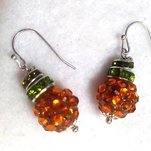 Halloween earrings | pumpkin Earrings | Halloween Jewelry