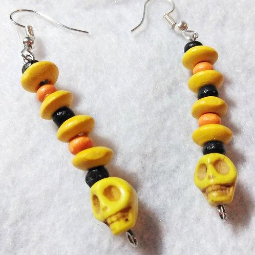 Halloween earrings | Scull Earrings | Halloween Jewelry