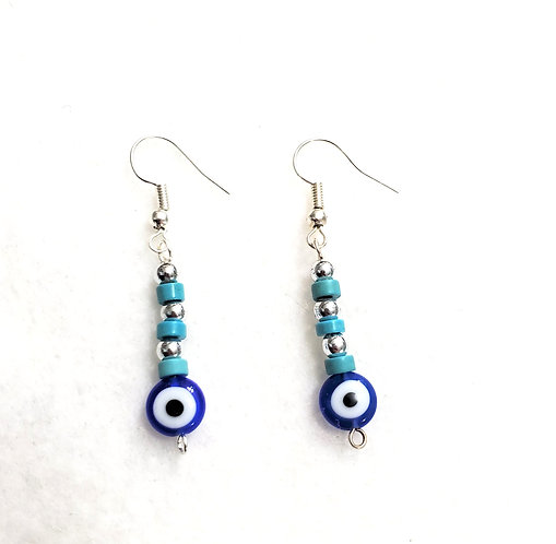 Evil Eye Earrings | Protection | Jewelry