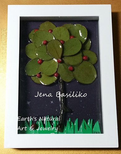 Earth Art | 3D Framed Natural Art | 6 x 8 inches - with name