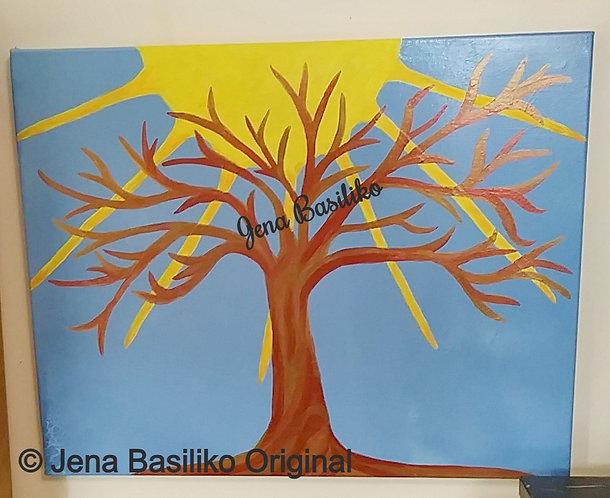 Sunshiny Day   Painting   Artist Jena B   Signed Original